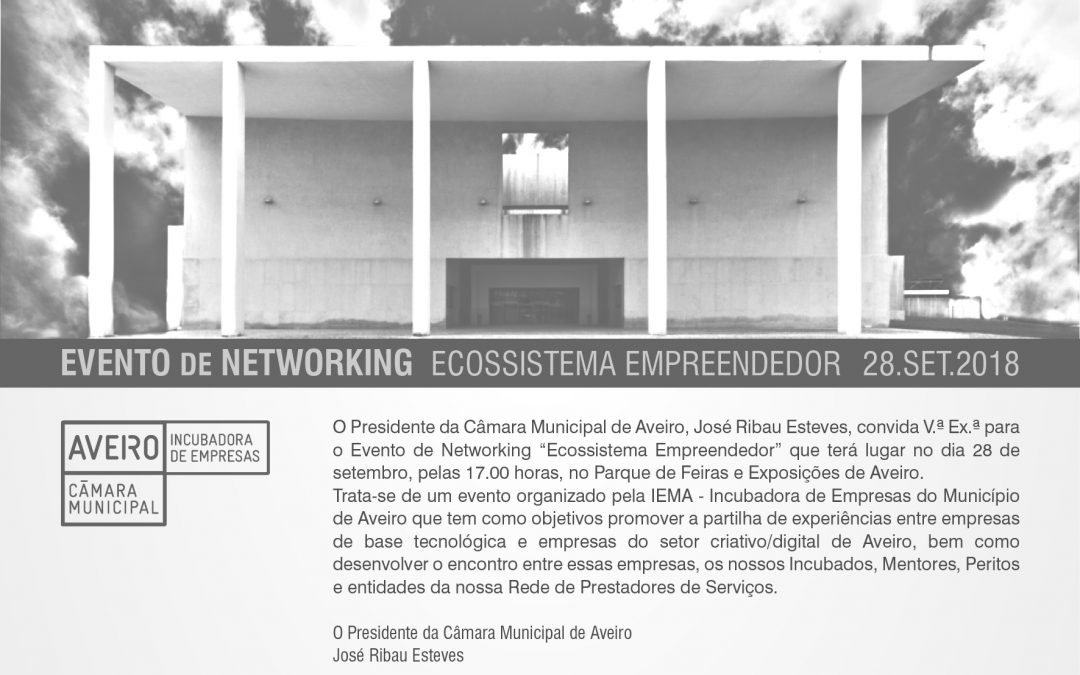 "Evento de Networking ""Ecossistema Empreendedor"""