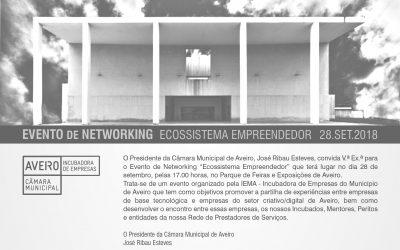 "Evento de Networking ""Ecossistema Empreendedor"""